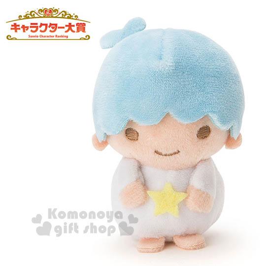 〔小禮堂〕雙子星 KIKI 造型絨毛玩偶娃娃《迷你.藍》2016 Sanrio人物大賞系列