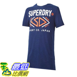 [COSCO代購如果沒搶到鄭重道歉] Superdry 男短袖 T 恤 深藍 _W1016819-DBL