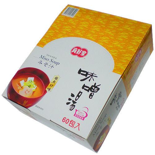 【真好家】柴魚味噌湯-禮盒(7.5gx60包入)