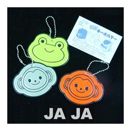 ◎Rainbooboo◎ QQ卡通反光包包吊飾 - 光線反射安全吊飾-有三色喔