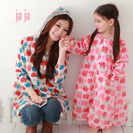 ●Rainbooboo●白蘋果兒童風雨衣【D1001】