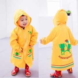 ●Rainbooboo● 彩虹小青蛙超優質感兒童風雨衣【C1003】