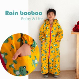 青蛙 無毒親子雨衣 / 兒童雨衣 / 時尚雨衣 【G1013】