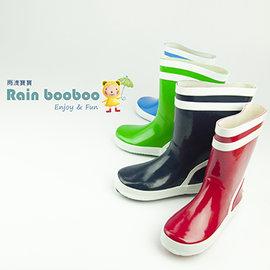 Rain booboo 糖果 兒童雨鞋/雨靴 【鋪綿+加墊+抗滑】橡膠環保抗菌【4色】