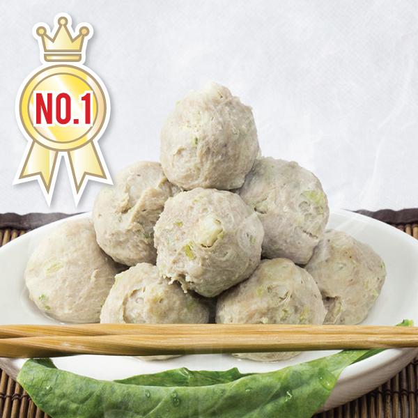 [丸子達人] 手工芹菜荸薺丸