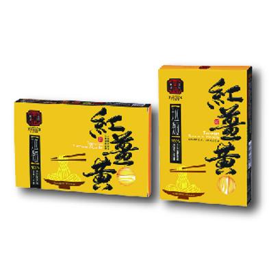 紅薑黃拉麵500g(盒裝)
