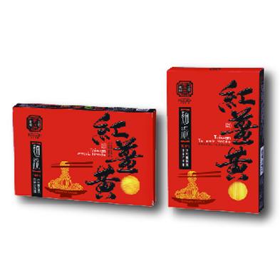 紅薑黃麵線500g(盒裝)