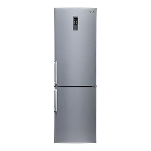 買再送好禮!LG 樂金 350L 直驅變頻上下門冰箱-精緻銀【GW-BF380SV】【小蔡電器】
