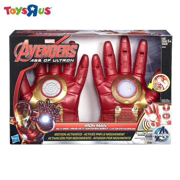 玩具反斗城 漫威復仇者聯盟2:鋼鐵人聲光手套