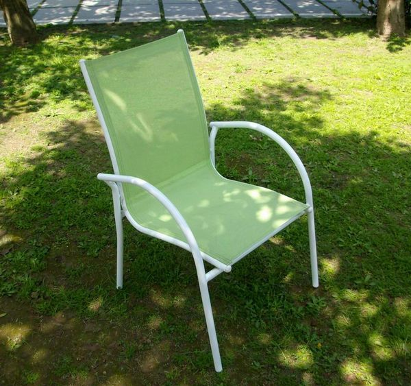 BROTHER 兄弟牌加勒比海鋁質紗網椅--翠綠