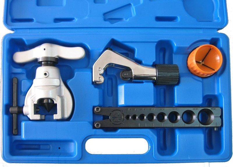 [萊陽冷凍五金] 冷煤 冷氣 [擴管器.銅管] Tubing Tool Kits;偏心擴管組 超省力 808L