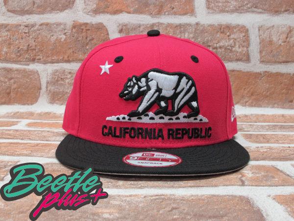 BEETLE PLUS 全新 NEW ERA NBA SNAPBACK 加州熊 黑 粉紅 SOUTH BEACH JORDAN CEMENT CALIFORNIA BEAR NE-41
