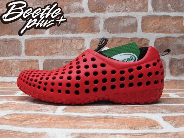 BEETLE PLUS 出清特價 下殺 6折 全新 日本最新品牌 CCILU 洞洞鞋 AMAZON SUMMER AM 紅 黑