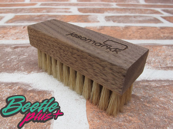 BEETLE PLUS 西門町 全新 JASON MARKK PREMIUM SHOE CLEANING BRUSH 鬃毛刷 軟毛 麂皮 尼龍 網布 JM-03