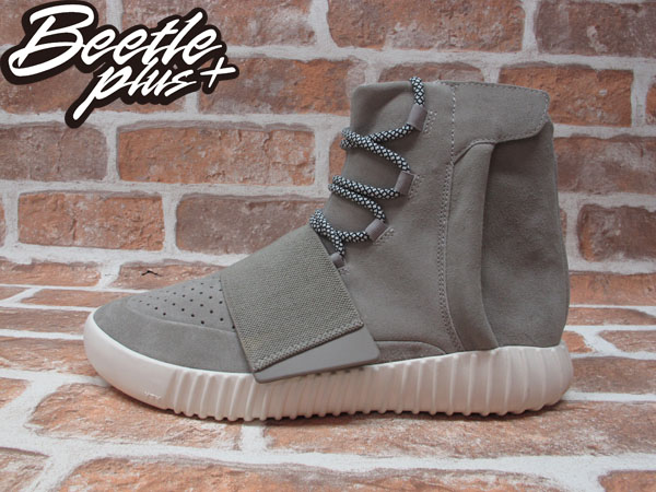 BEETLE PLUS ADIDAS YEEZY 750 BOOST KANYE WEST 灰 麂皮 高筒 GD BIG SEAN 魔鬼氈  精品鞋 B35309