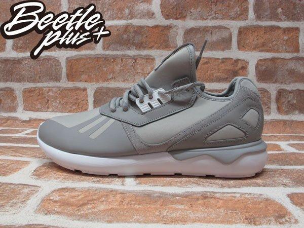 BEETLE PLUS ADIDAS TUBULAR RUNNER 平民版 灰白 經典 Y3 網布 透氣 慢跑鞋 QASA B41275