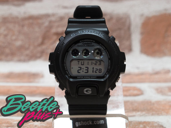 BEETLE PLUS 西門町 日本限定 CASIO G-SHOCK CRAZY COLOR DW-6900HM-1CR 金屬鏡面 霧面 電子 手錶 黑色