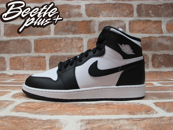 BEETLE PLUS NIKE AIR JORDAN 1 RETRO GS OG 黑白 女鞋 575441-010