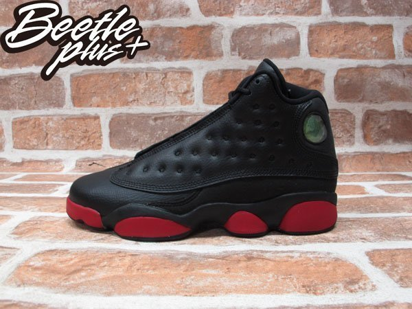 BEETLE PLUS NIKE AIR JORDAN 13 RETRO BG GS 黑紅 女鞋 414574-033