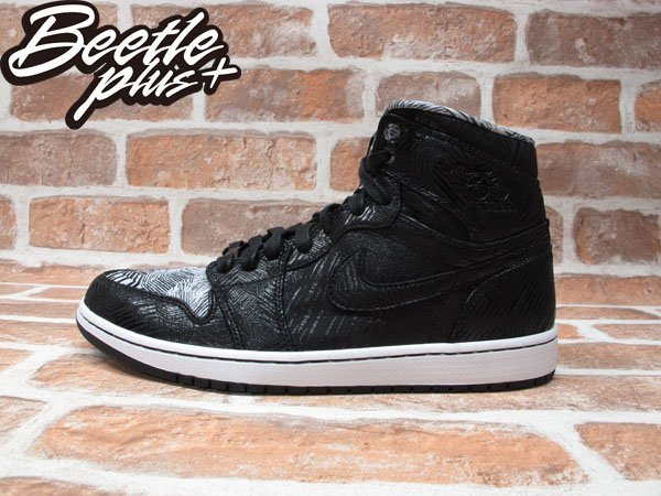 BEETLE PLUS NIKE AIR JORDAN 1 RETRO BHM 黑人月 30周年 線條 皮革 黑白 579591-010