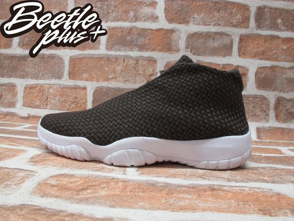 BEETLE NIKE AIR JORDAN FUTURE 喬丹 咖啡 白底 未來 編織 金扣 AJ11 高筒 男鞋 籃球鞋 656503-200