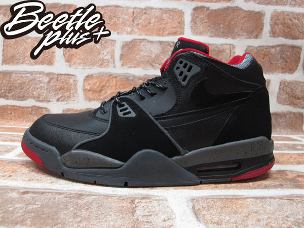 BEETLE PLUS 全新 現貨 NIKE AIR FLIGHT 89 BLACK 黑灰紅 潑墨 AJ4 BRED JORDAN 574274-006