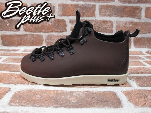 BEETLE PLUS 西門町經銷 全新 加拿大品牌 NATIVE FITZSIMMONS BOOTS 超輕量 登山靴 咖啡 BROWN GLM06-245