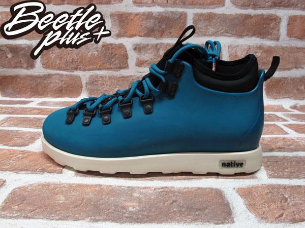 BEETLE PLUS 西門町專賣店 全新 NATIVE FITZSIMMONS BOOTS 登山靴 STADIUM BLUE 土耳其藍 GLM06-471
