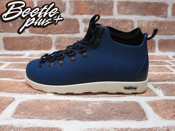 BEETLE PLUS 西門町專賣 全新 NATIVE FITZSIMMONS BOOTS 登山靴 深藍 REGATTA BLUE GLM06-485