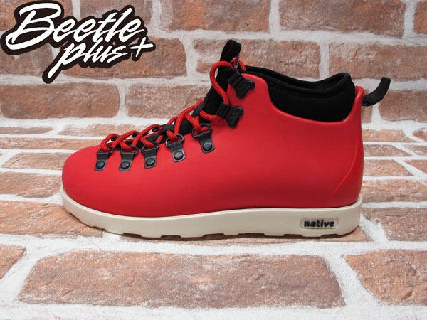BEETLE PLUS 西門町專賣店 全新 NATIVE FITZSIMMONS BOOTS 超輕量 登山靴 紅 TORCH RED GLM06-642
