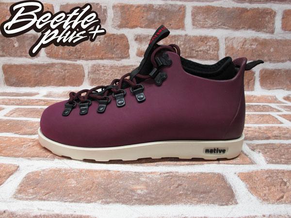 西門町專賣店 全新 加拿大 NATIVE FITZSIMMONS BOOTS 超輕量 登山靴 紫色 酒紅 GLM06-643