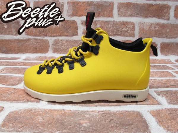 BEETLE PLUS 西門町專賣 全新 NATIVE FITZSIMMONS BOOTS 登山靴 黃 YELLOW GLM06-752