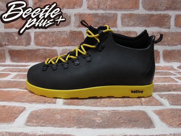 西門町專賣店 BEETLE PLUS 全新 NATIVE FITZSIMMONS BOOTS 輕量 登山靴 雙色 黑黃 YELLOW GLM06-754