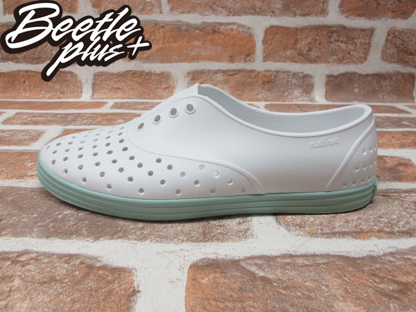 BEETLE PLUS 全新 NATIVE SHOES JERICHO SHELL WHITE ISLAND GREEN 白 湖水綠 馬卡龍 女鞋 GLM04W-139
