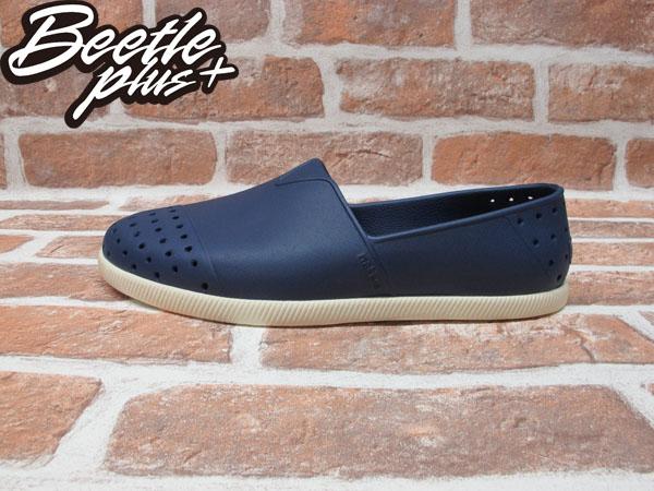 BEETLE PLUS 西門町專賣店 全新 NATIVE VERONA 水手鞋 超輕量 深藍 REGATTA BLUE GLM18-485