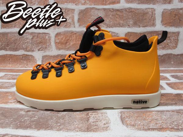 西門町專賣 BEETLE PLUS 全新 加拿大 NATIVE FITZSIMMONS BOOTS POPSICLE ORANGE 橘 超輕量 登山靴 GLM06-841