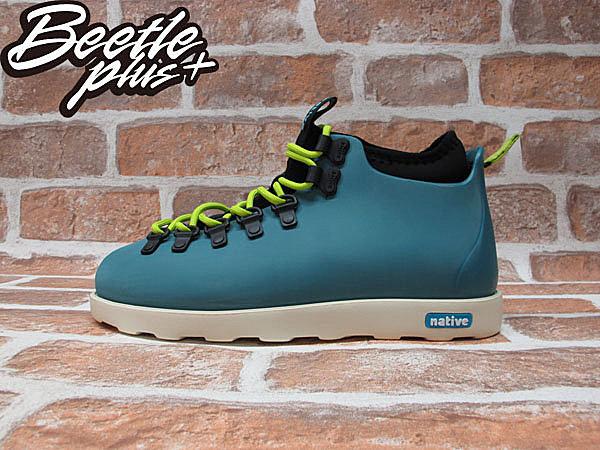 BEETLE PLUS NATIVE FITZSIMMONS GLORY BLUE 湖水藍 螢光 綠 超輕量 登山靴 GLM06P-425