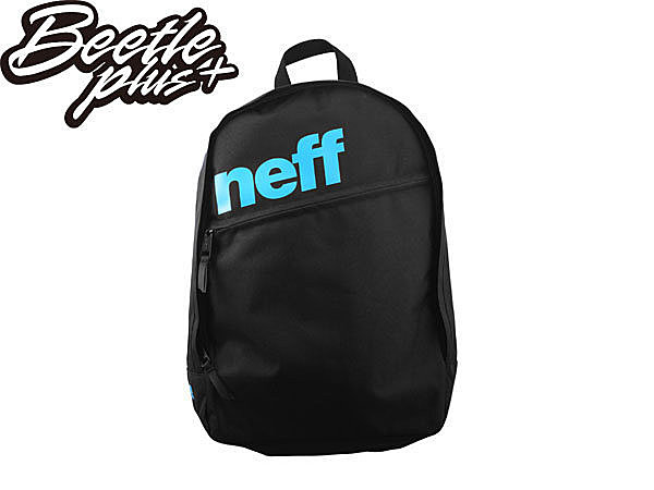 BEETLE PLUS NEFF DAILY BACKPACK 素面 黑 藍 LOGO 後背包 SPRAYGROUND NF-102
