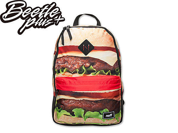 BEETLE PLUS NEFF SCHOLAR BURGER BACKPACK 漢堡 後背包 SPRAYGROUND NF-103