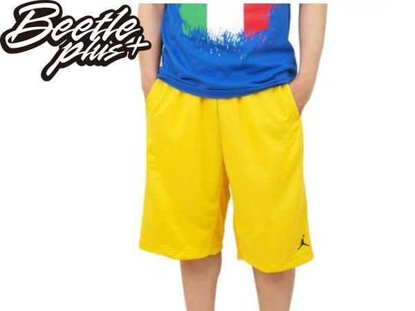 BEETLE NIKE JORDAN REVOLUTION SHORT 全黃 黑黃 飛人 喬丹 排汗 球褲 短褲 487856-703