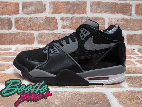BEETLE PLUS 全新 現貨 NIKE AIR FLIGHT 89 BLACK GREY 黑灰紅 AJ4 BRED JORDAN 爆裂紋 306252-062