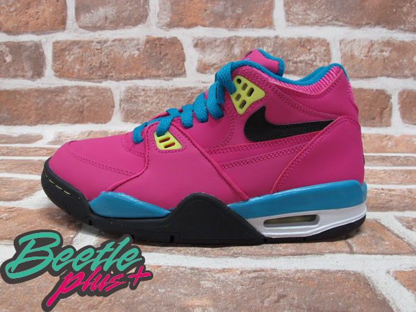 BEETLE PLUS NIKE AIR FLIGHT 89 JORDAN 4 GS PINK 粉紅 湖水藍 南灣 女鞋 555629-600