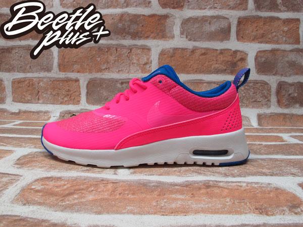 BEETLE WMNS NIKE AIR MAX THEA PRM 南灣 粉藍 輕量 慢跑鞋 女鞋 616723-601