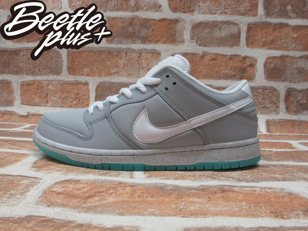 BEETLE NIKE SB DUNK LOW PRM MARTY MCFLY AIR MAG 回到未來 BACK TO FUTRUE 灰白 灰綠 冰底 313170-022