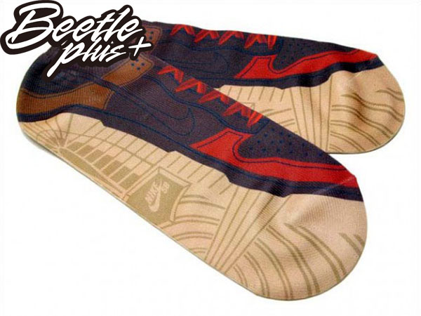 BEETLE PLUS 全新 NIKE SB DUNK 街頭 滑板 運動 咖啡 短襪 限量 鞋盒 布魯克林 滑板神童 SX3436-222 NT-44