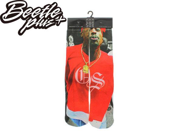 BEETLE PLUS 西門町 美國品牌 全新 現貨 ODD SOX THE THUG LIFE SOCKS 2PAC 吐派克 饒舌 歌手 嘻哈 高筒襪 MN-239