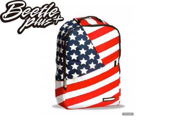 BEETLE PLUS 實體店面 美國潮牌 SPRAYGROUND 超強功能性 後背包 USA BACKPACK 美國 國旗 UNITED STATES SP-03