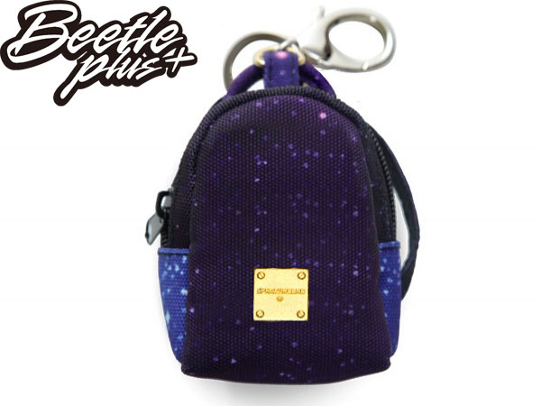 西門町 BEETLE PLUS 美國潮牌 SPRAYGROUND COIN 零錢包 鑰匙包 銀河 THE GALAXY MINI KEYCHAIN BACKPACK SP-11