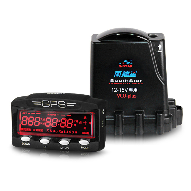 【禾笙科技】南極星 星鑽 GPS-1688 分體式衛星超級雷達測速器 (送全省免費安裝)