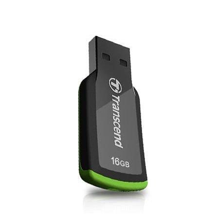 *╯新風尚潮流╭*創見隨身碟 16G 16GB JF360 無帽蓋 、流線型機身、輕薄 隨身碟 TS16GJF360